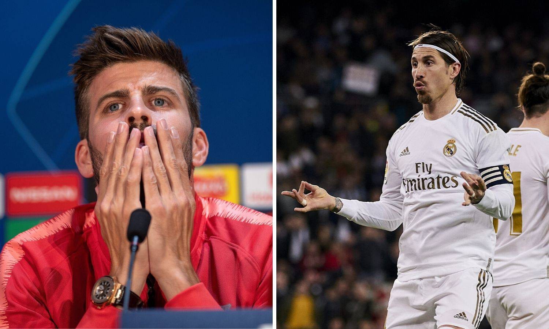 Ramos: Pique kmeči, a nisu mu suci smetali kad je Barca vodila