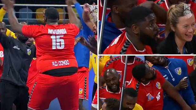 Zaplesao je i 'Shaq'! Evo kako Kongoanci slave prvu pobjedu