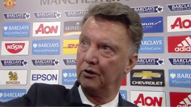 Van Gaal povukao novinara za kosu: Kako se sada osjećate?