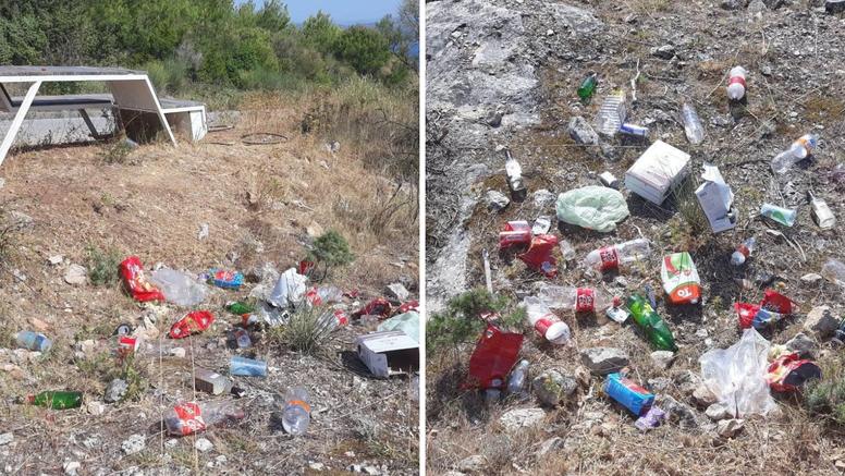 Iz Turističke zajednice Zlarin reagirali na smeće po prirodi: 'Niste cool, sramota je...'