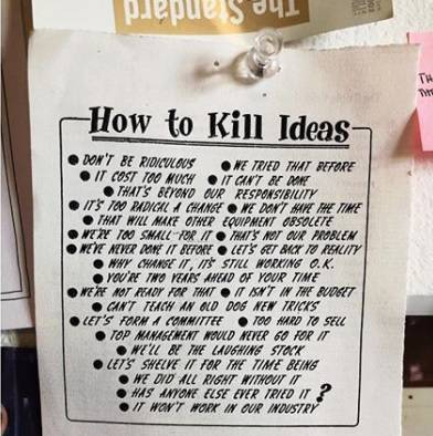 Jednostavan recept: Kako 'ubiti' ideje i samog čovjeka u pojam?