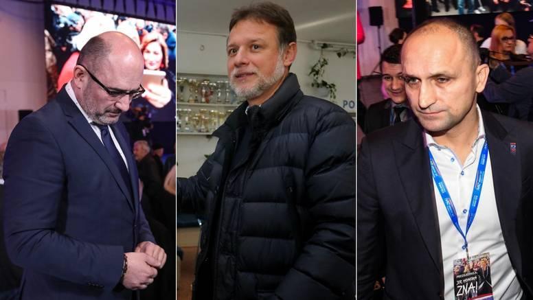 Jandroković, Brkić i Anušić su i prije rezultata 'priznali' poraz