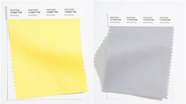 Pantone je predstavio dvije nijanse koje će obilježiti 2021. godinu - boje snage i optimizma