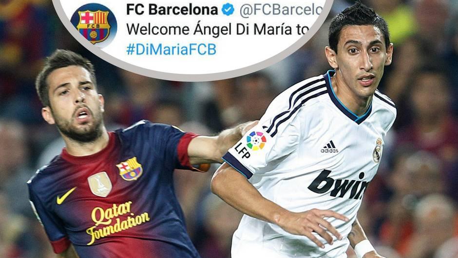 Kad ne može Bartomeu, hakeri su doveli Di Mariju u Barcelonu