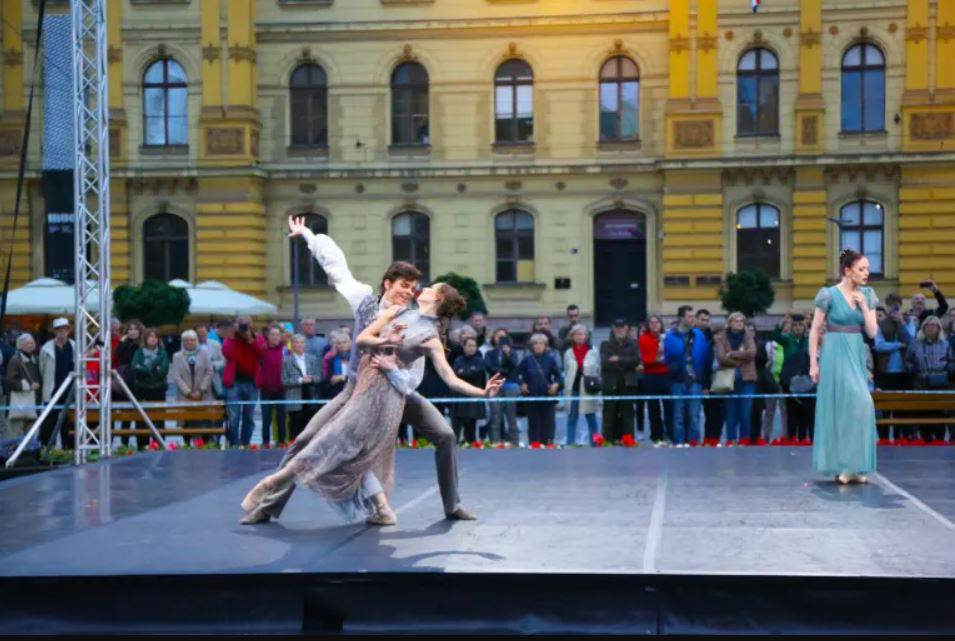 Tri ansambla HNK, Drama i Balet pjevaju, plešu i recitiraju