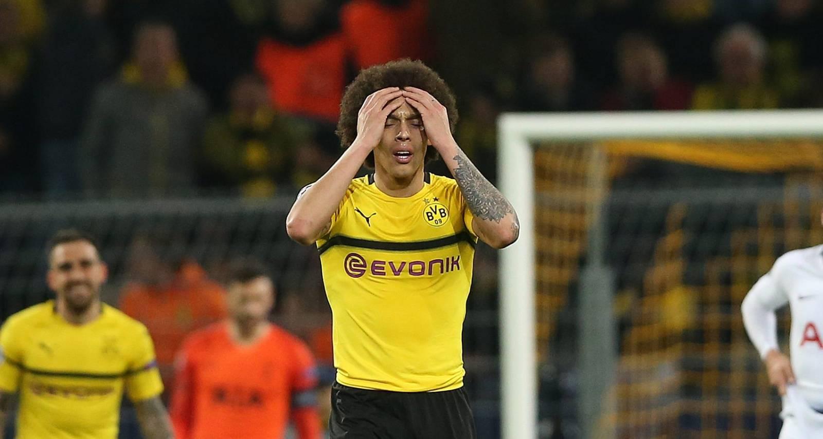 firo: 05.03.2019, Football, Football: UEFA, Champions League, CL, Season 2018/2019, Round of 16, Ruckspiel, BVB, Borussia Dortmund - Tottenham Hotspur