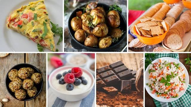 Top 17 ideja za zdrave zalogaje koji se jedu bez grižnje savjesti