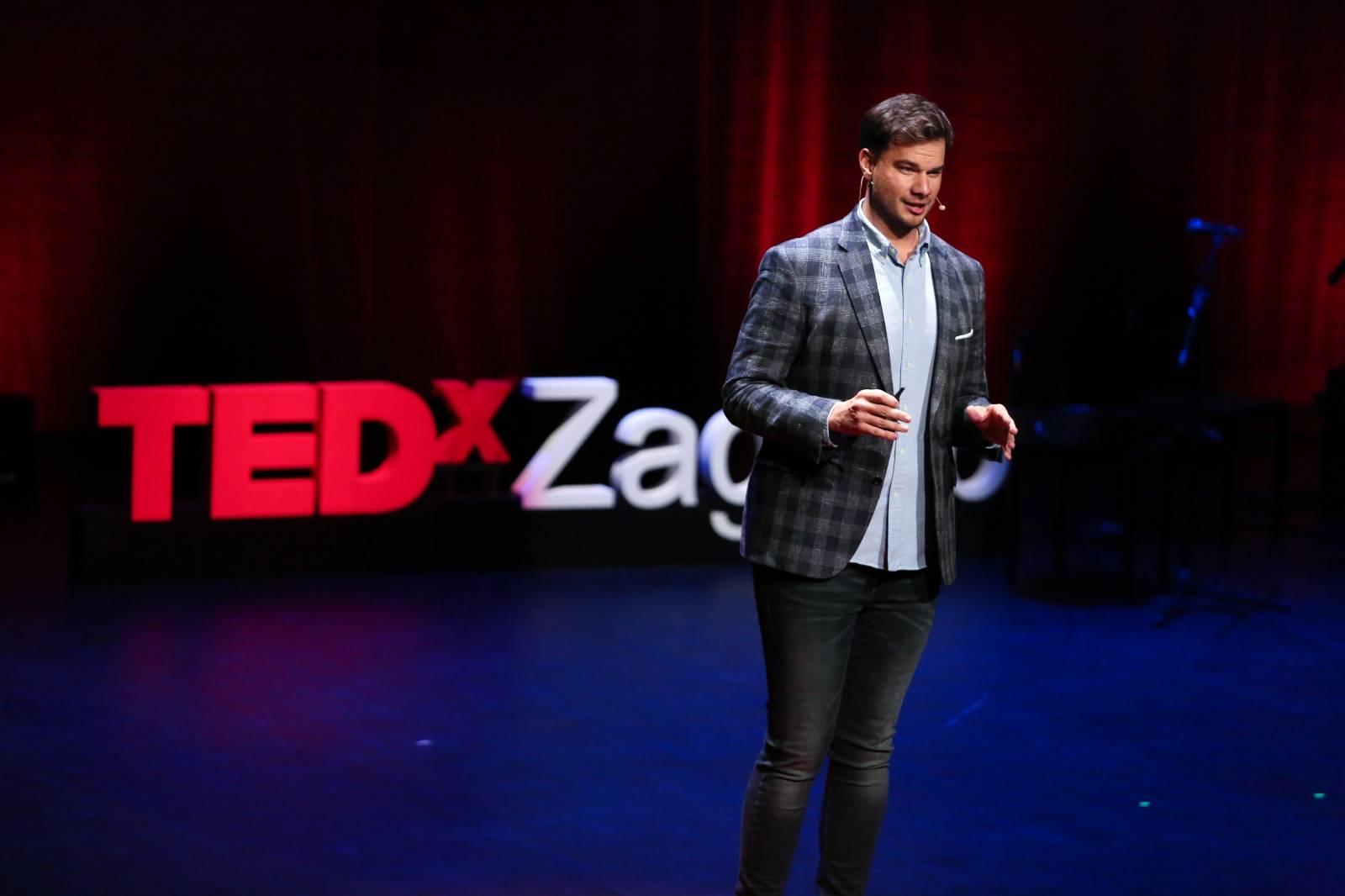 Zagreb:  Matej Lončarić gostovao na ovogodišnjem TEDxZagreb Twister-u