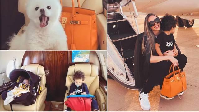 Miss Fernándes privatno leti s djecom: U luksuzu uživa i pas