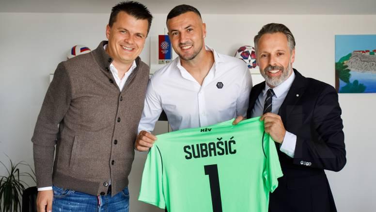 Subašić opet u Hajduku! 'Bit će veliki uzor i podrška mlađima'