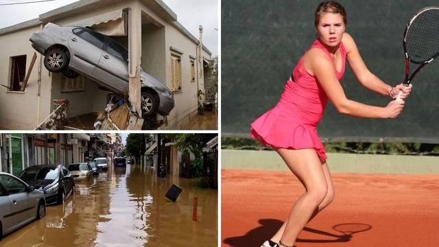 Hrvatska tenisačica zarobljena u hotelu: Auti plivaju ulicama, imamo pitke vode do večeras