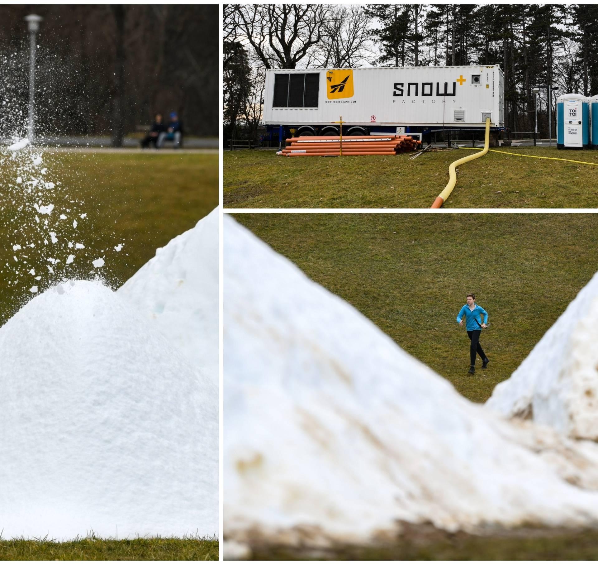 U Zagrebu je izmjereno 16°C, a Bandić na Cmroku radi snijeg