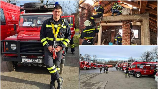 Mario Mandić iz 'Života na vagi' s vatrogascima pomaže Petrinji