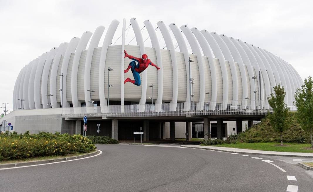 Udarna vijest! Spiderman viđen na ulicama Zagreba