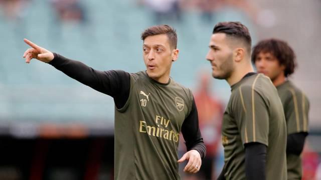Europa League Final - Arsenal Training