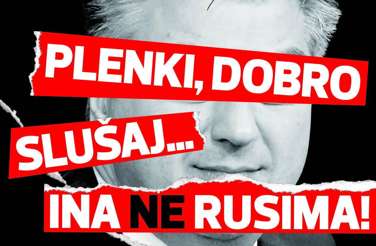 Plenković dobio jasnu poruku - Rusima treba jasno reći: 'Njet!'