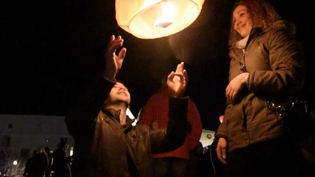 Za bolesnu Anđelu (20): Pustili 4000 lampiona na rivi u Zadru