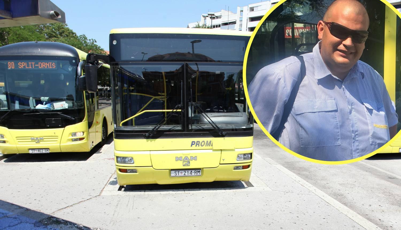 Vozač busa u Splitu izbacio sve putnike: Htio pomoći invalidu