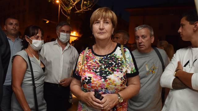 Miroslav Škoro i Ruža Tomašić na otvaranju šibenskog trga
