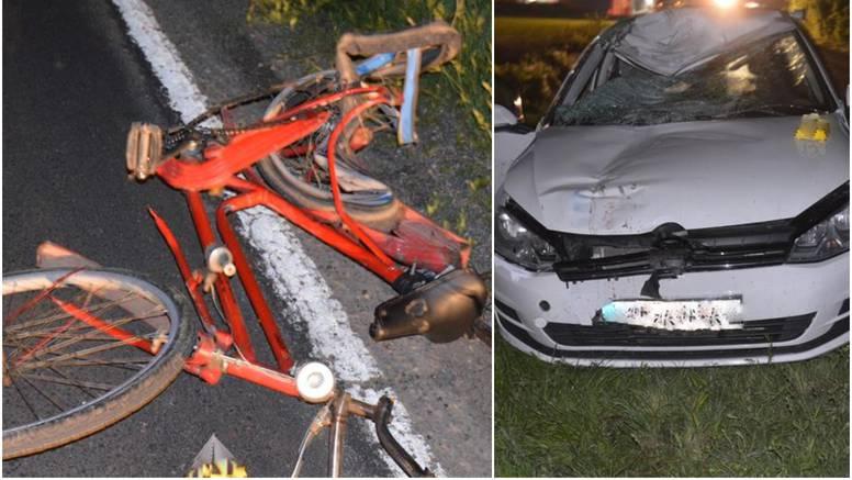 Strava kod Vukovara: Pijani vozač auta usmrtio biciklista
