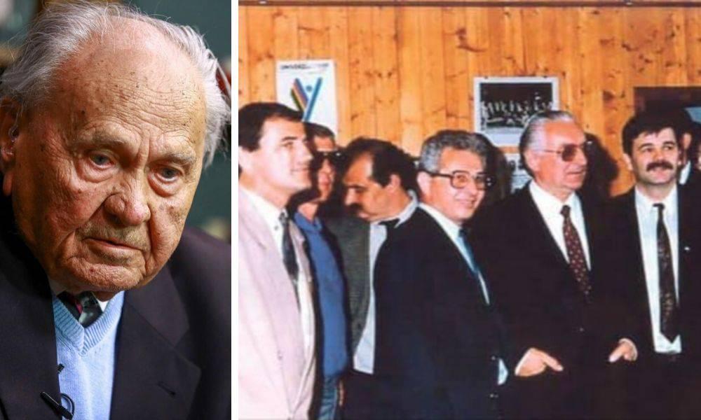 Josip Manolić: To što su me izrezali s povijesne fotografije HDZ-a je kriminal na svoj način