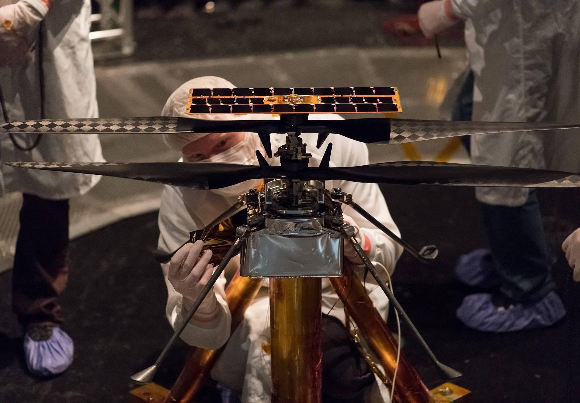 Spreman za let: Ovako izgleda helikopter koji će ići na Mars
