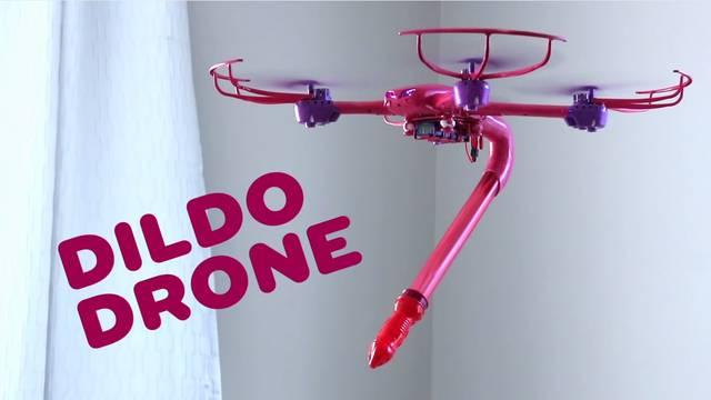 Osmislio dildo-dron: Leteći penis nudi zabavu bez ruku