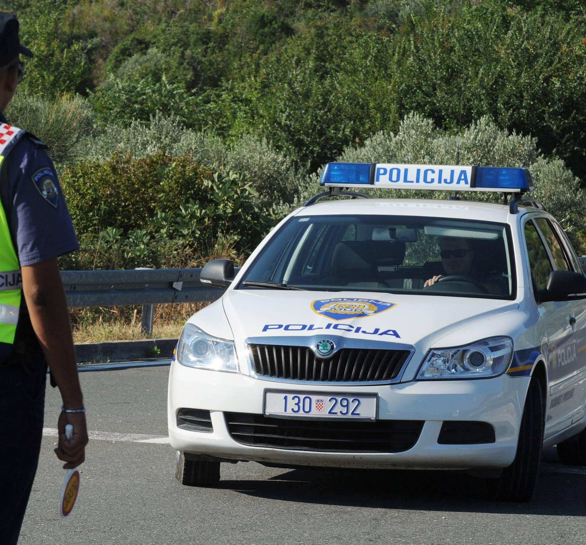 Nesreća na magistrali pored Banja, vozi se jednim trakom