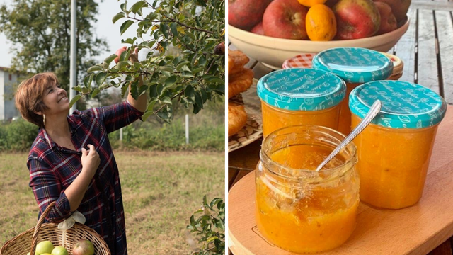Karmela Vukov Colić jabuke iz vrta iskoristila je za pekmez