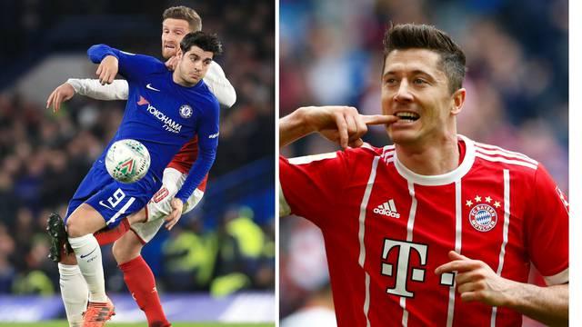 Na pomolu je velika razmjena: Lewa u Real, Morata u Bayern!