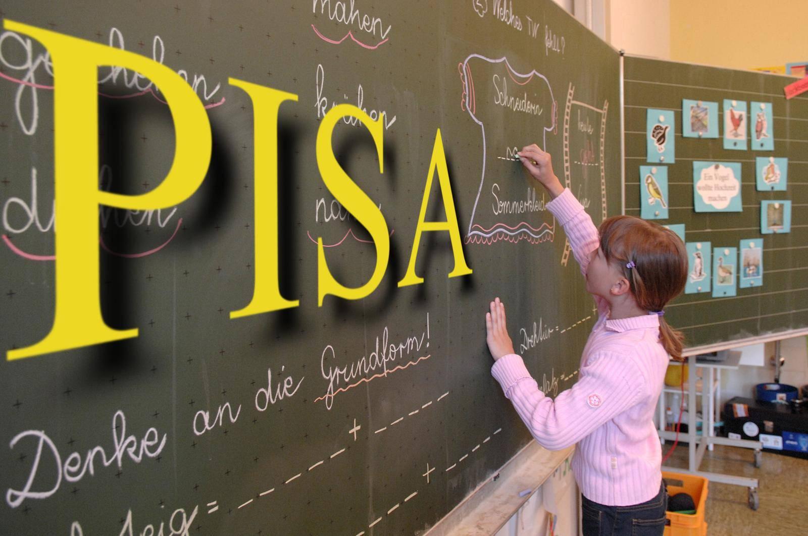 PISA study Germanys students again worse.