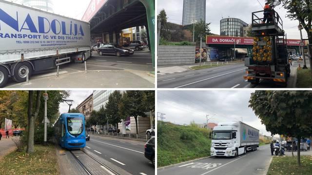 Šleper potrgao žice u Savskoj: Ulica je opet puštena u promet