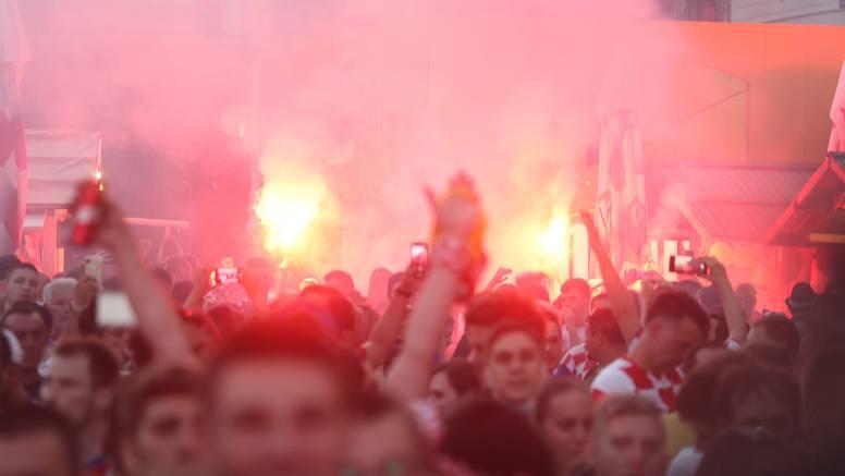 VIDEO Pogledajte kako su navijači slavili golove Hrvatske
