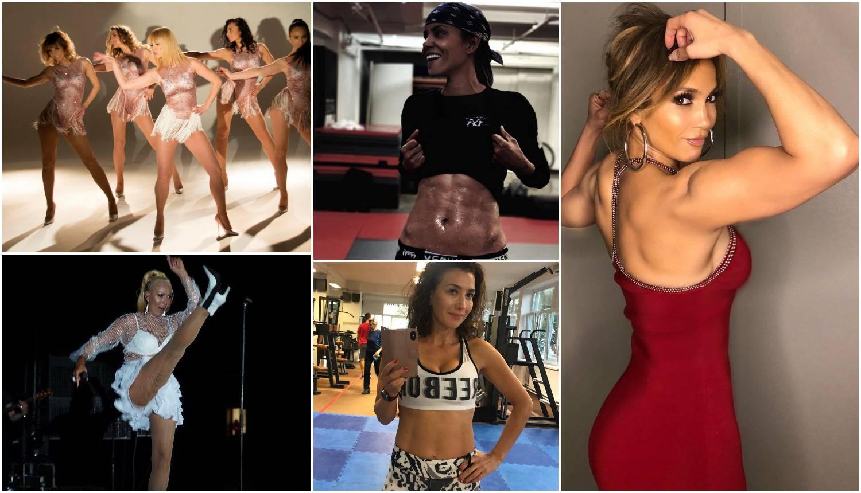 Celebrity vježbačice: 'Ne, moji trbušnjaci su bolji od tvojih...'