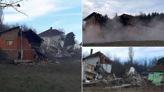 Šest kuća potpuno je uništeno: Ljudi su se na vrijeme spasili