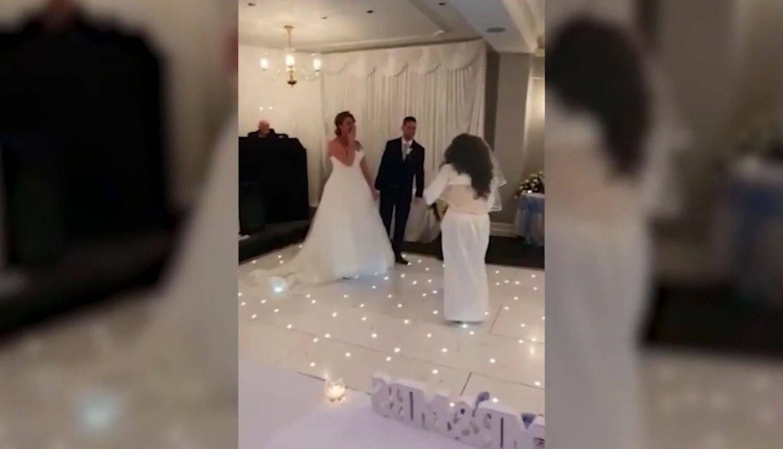 Upala na svadbu u vjenčanici i vikala: 'To sam trebala biti ja'
