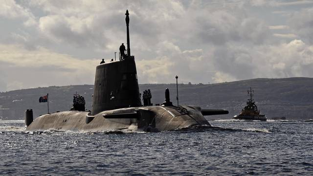 HMS Ambush Arriving at HMNB Clyde