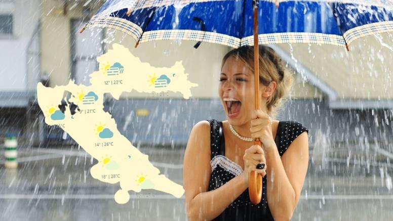 Promjena vremena: Sa zapada stiže jače naoblačenje s kišom