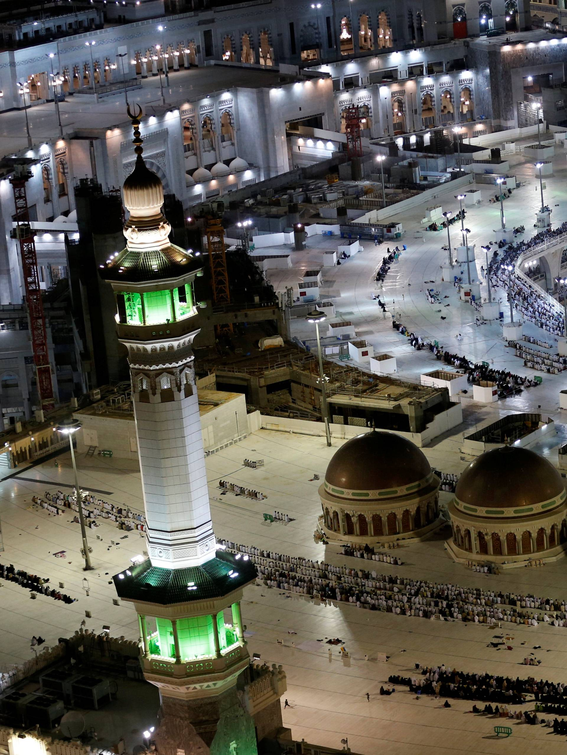 General view of the Grand Mosque in Mecca