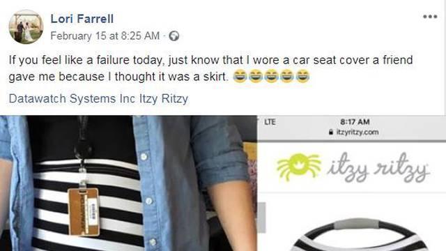 Na posao došla u presvlaci za sjedalicu: 'Pa to nije haljina!'