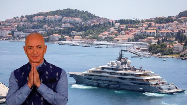 Usidrio jahtu kod Cavtata, a Hrvatskoj nije platio ni lipe