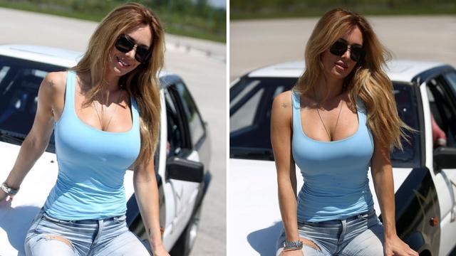Lidija Bačić vozačica i pol, Šebalj oduševljen: 'Ti si uvjerljivo naj drifterica u Zvijezde vrište!'