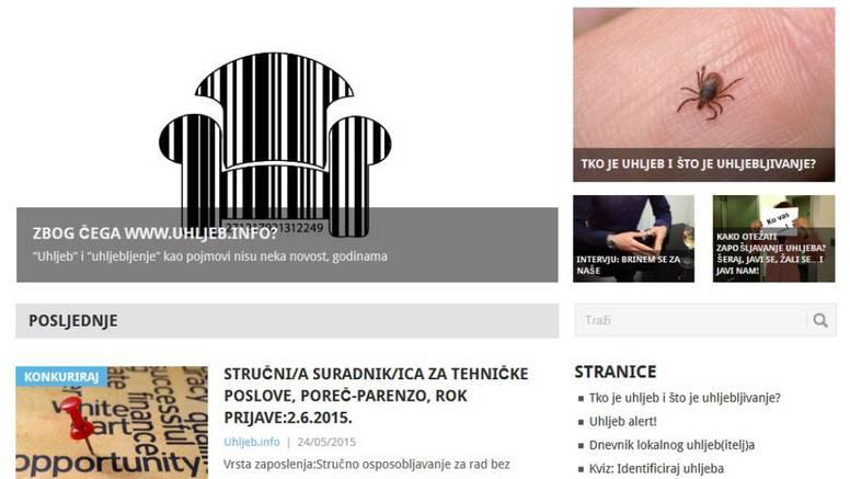 Sarkastičan dnevnik: Uhljebi dobili svoju internet stranicu