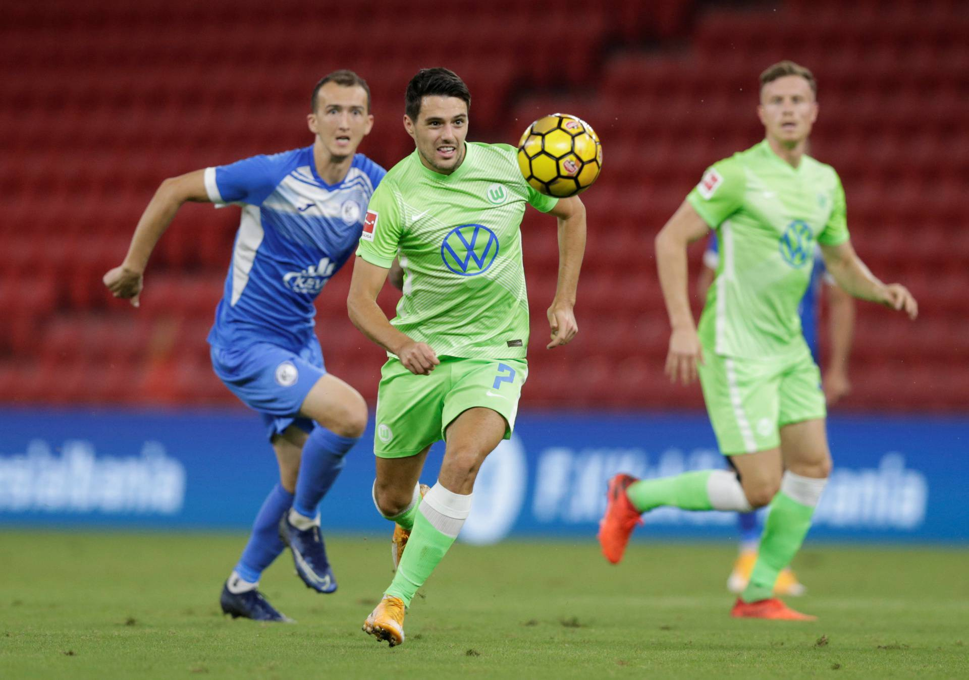 Europa League - Second Qualifying Round - Kukes v VfL Wolfsburg