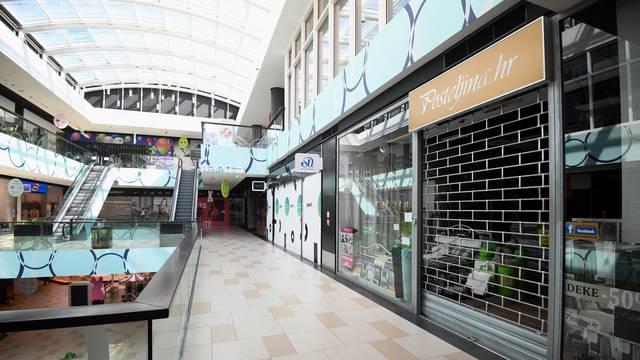 Zagreb: Trgovački centar Point zatvorio većinu svoji trgovina