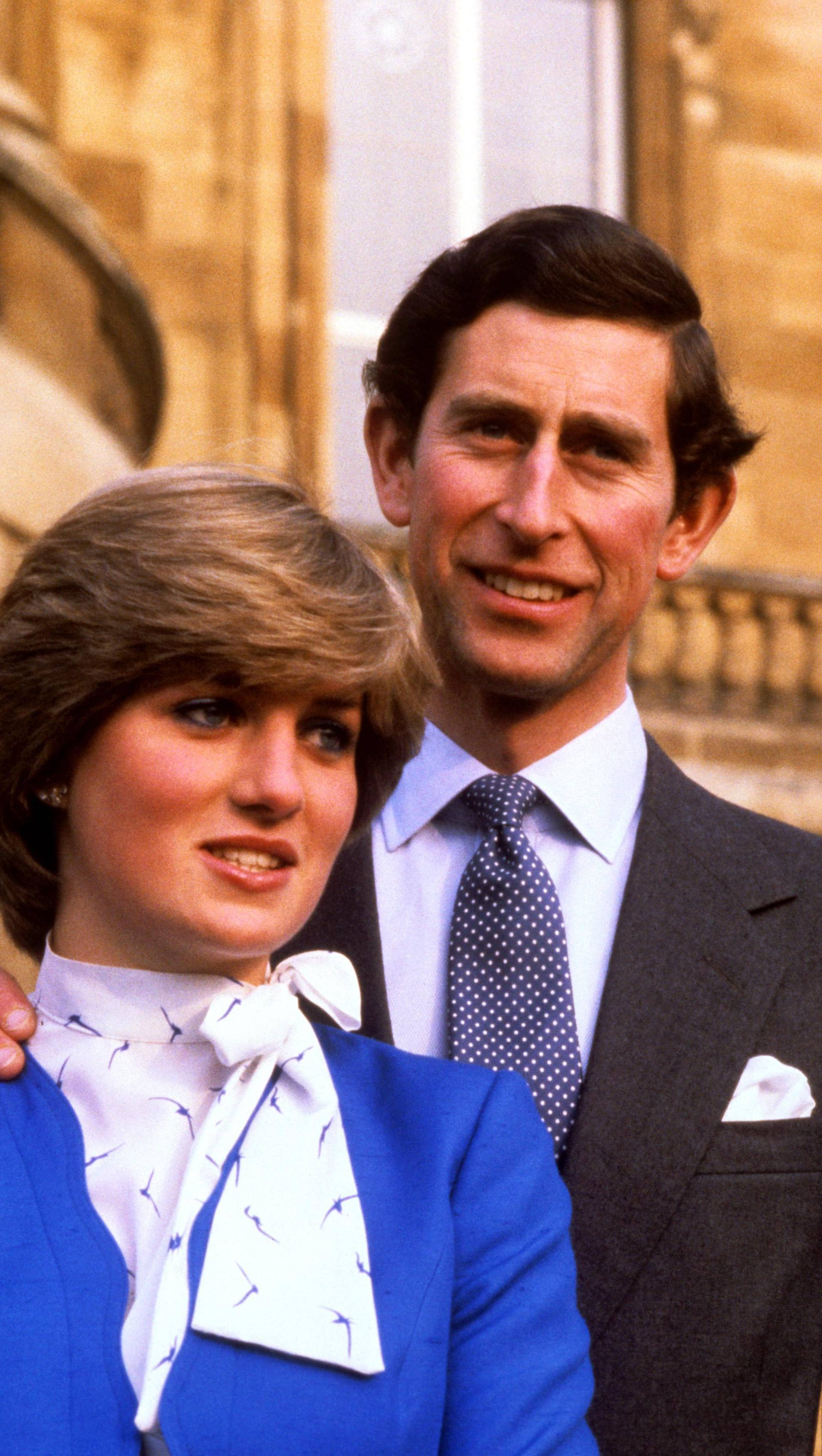 PRINCE CHARLES AND LADY DIANA SPENCER ENGAGEMENT