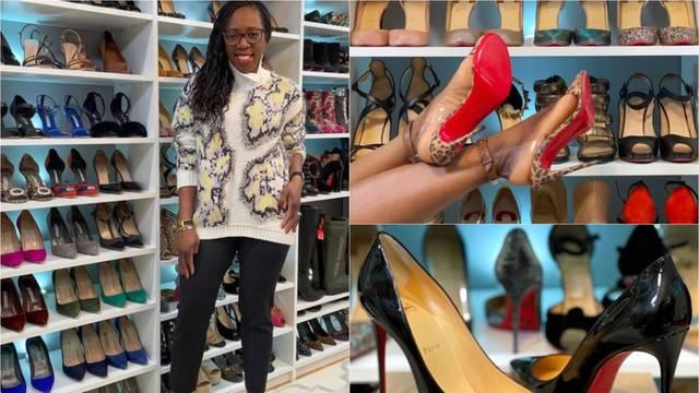 Obožavateljica obuće