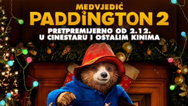 Medvjedić Paddington obasjat će vaše blagdane!