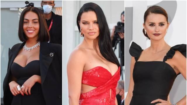 Borba dekoltea: Na crvenom tepihu svu pažnju su ukrale Penelope, Georgina i Adriana