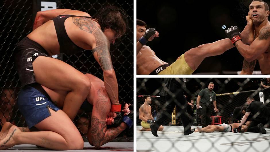 Noć sjajnih nokauta: UFC 224 u Riju bio je za prste polizati!